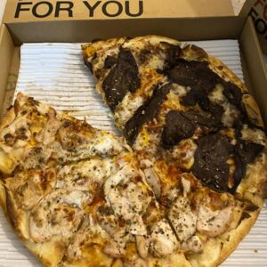 پیتزای خوشمزه در لاهیجان