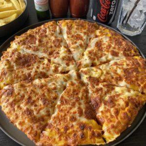 پیتزای خوشمزه و دلیوری رایگان