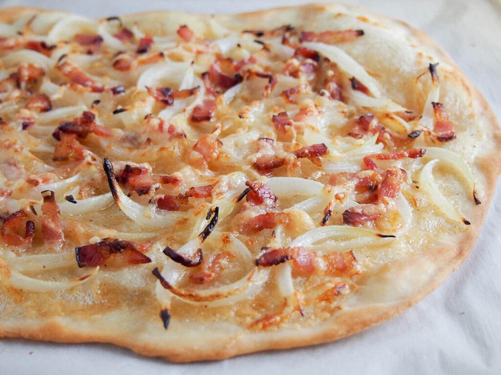 پیتزای فرانسوی