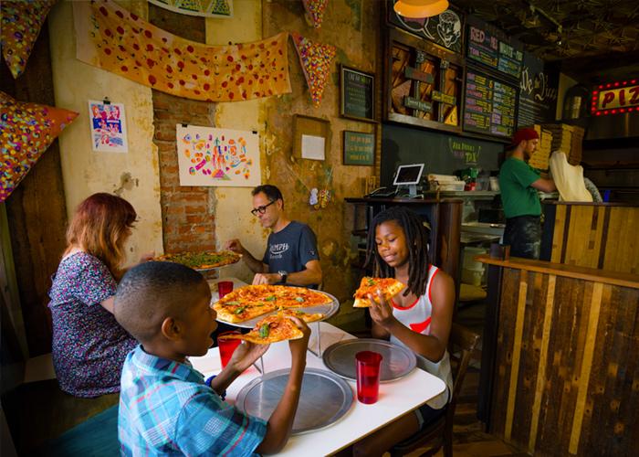 موزه پیتزا و فرهنگ پیتزا در فیلادلفیا