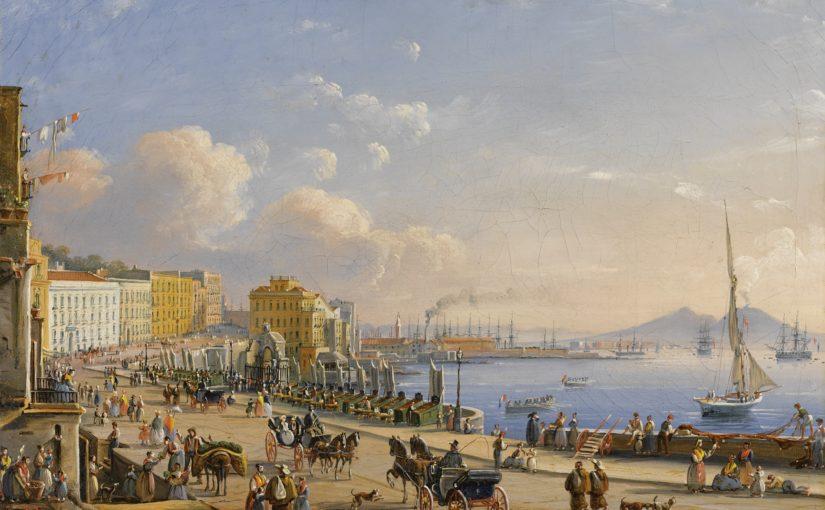 شهر زیبای ناپل در قرن ۱۸ میلادی