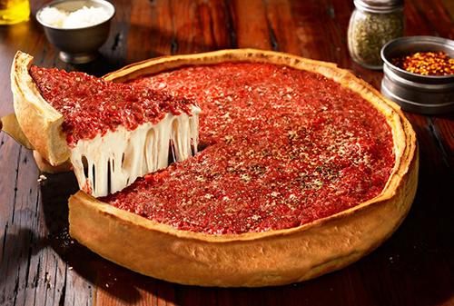 پیتزا دیپ دیش شیکاگو